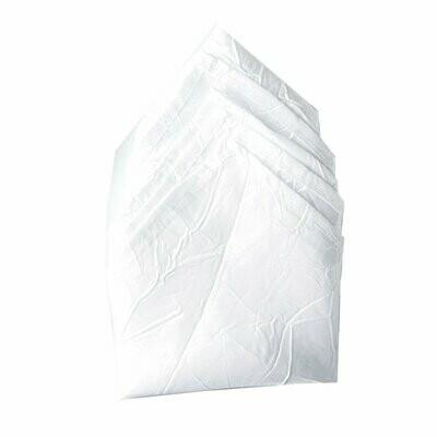 White Crushed Taffeta Napkins