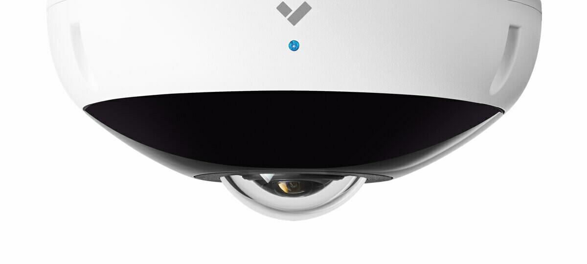 Verkada Fisheye Camera, 12MP, Fixed Lens