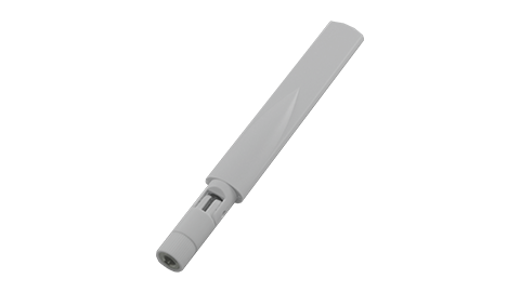 Dual-Band Wi-Fi Indoor Omni Antenna in White