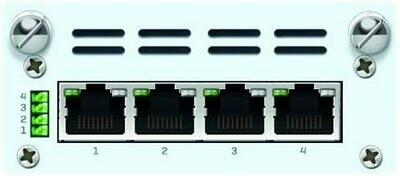 Sophos 4 port GbE PoE FleXi Port module + Power Supply Kit (for SG/XG 210 rev.3 & 230/3xx/4xx rev.2) with US Power Cord