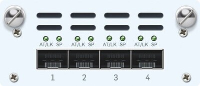 Sophos 4 port 10GbE SFP+ FleXi Port module (for SG/XG 2xx/3xx/4xx all revs)