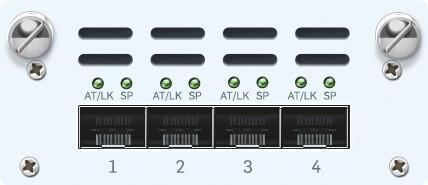 Sophos 4 port GbE copper - 2 Bypass groups FleXi Port module (for XG 2xx/3xx/4xx only)