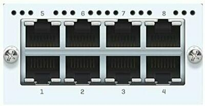 Sophos 8 port GbE copper FleXi Port module (for XG 750 and SG/XG 550/650 rev.2 only)