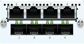 Sophos 8 port GbE SFP FleXi Port module  (for XG 750 and SG/XG 550/650 rev.2 only)