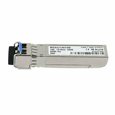 Sophos Dual Rate 10GBase-LR 10GbE Fiber Transceiver (GBIC), for UTM/SG/XG SFP+ ports