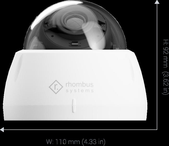 Rhombus R2-180, 180° Fisheye