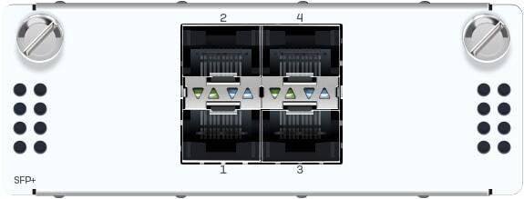 Sophos 2 port 10GbE fiber (LC) Bypass + 4 port 10GbE SFP+ FleXi Port module (for XGS 5500/6500 models only)