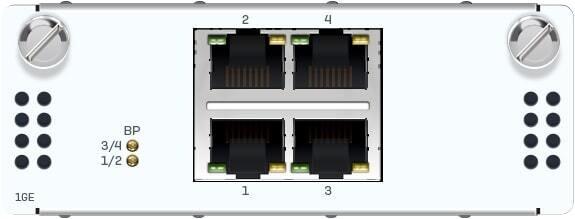 2 port GbE fiber (LC) Bypass + 4 port GbE SFP FleXi Port module (for all XGS Rackmount models)