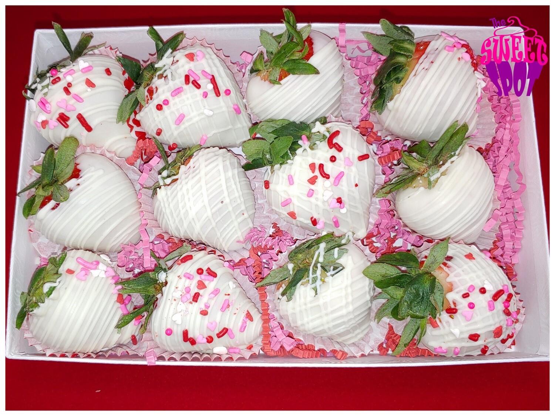 Mixed Chocolate Strawberries