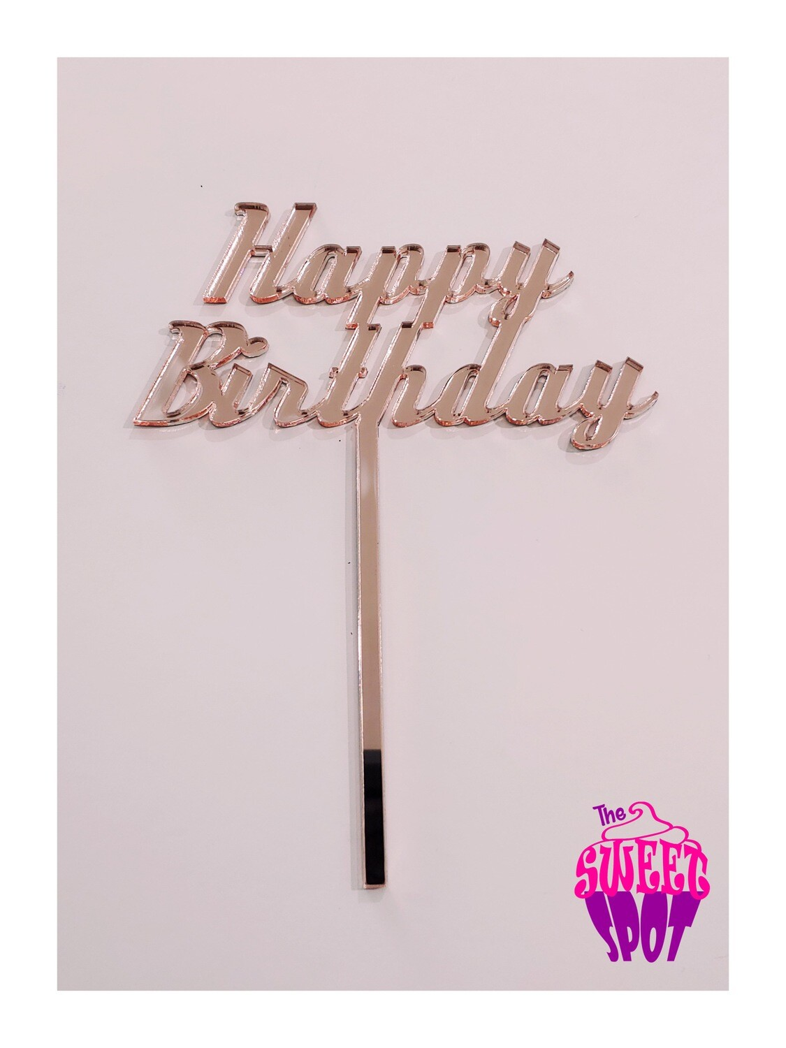 Basic Acrylic Topper (Any Occasion)