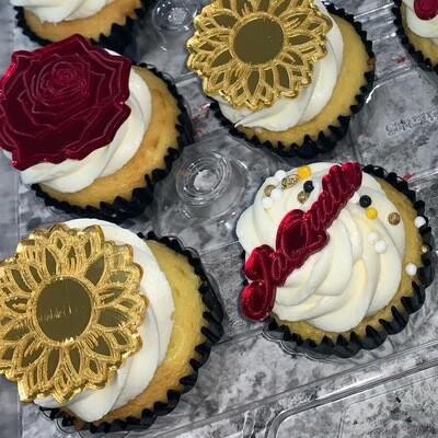Name Cupcake Charms (Set of 3)