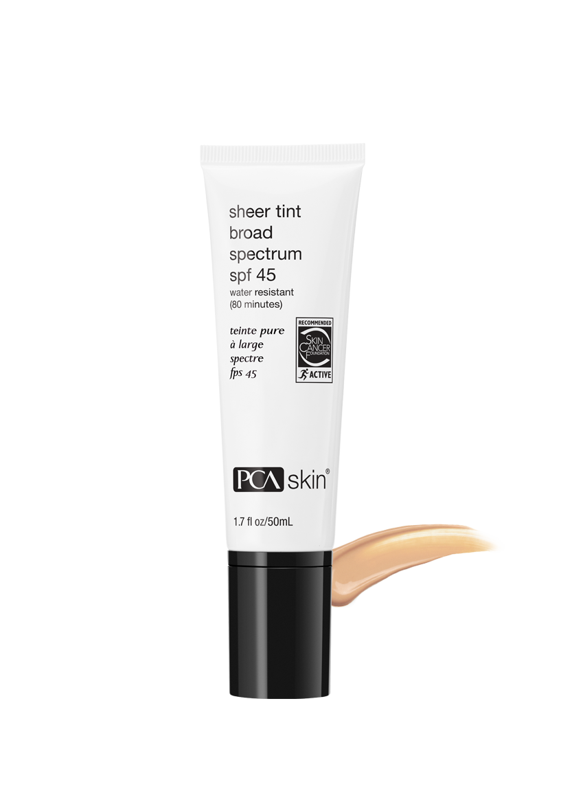 PCA Skin® Sheer Tint Broad Spectrum SPF 45