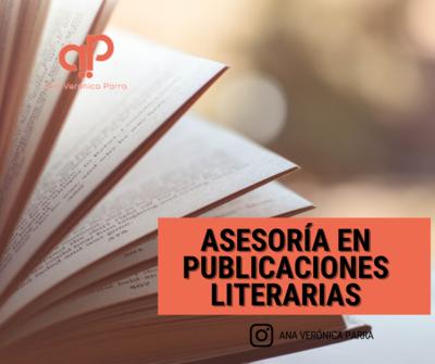 Asesoría en publicaciones literarias