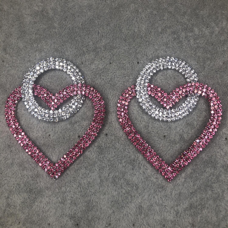 XL HEART - PINK