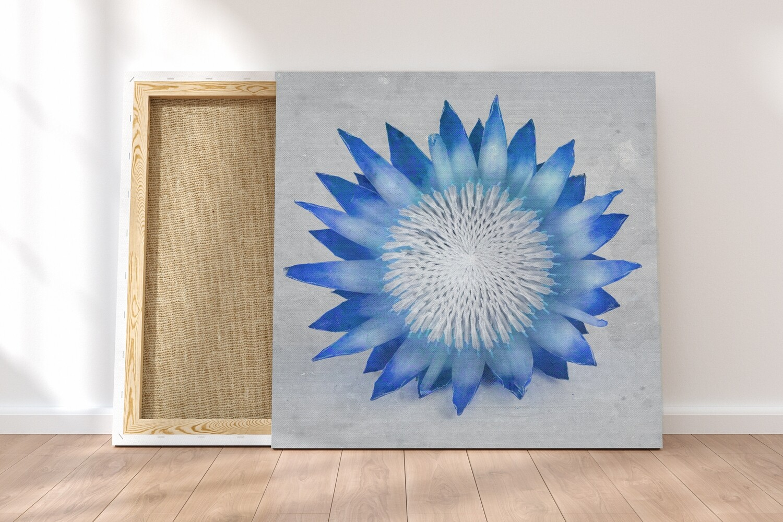 Madiba Protea 1 on canvas