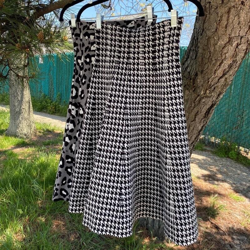 MM Skater Skirt - patterned