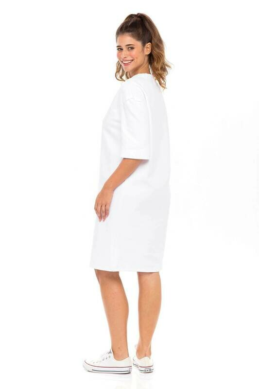 Cotton Tee Shirt Dress