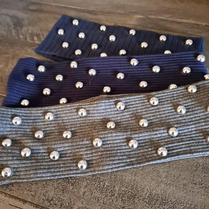silver domed flat headbands