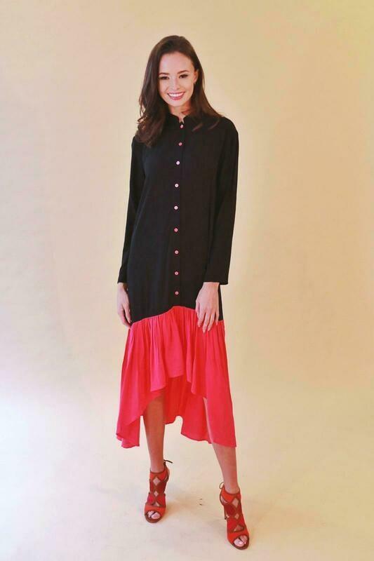 Button down top - lightweight dress