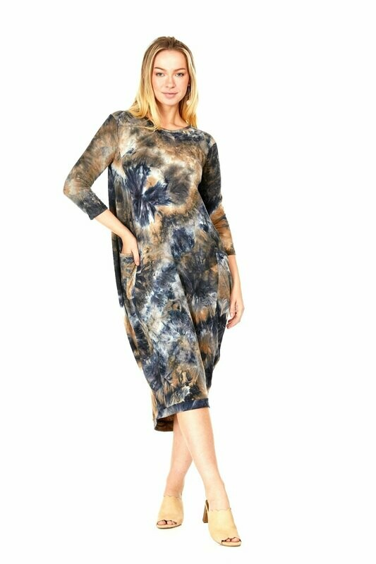 Tie dyed dress - perfect for Spring