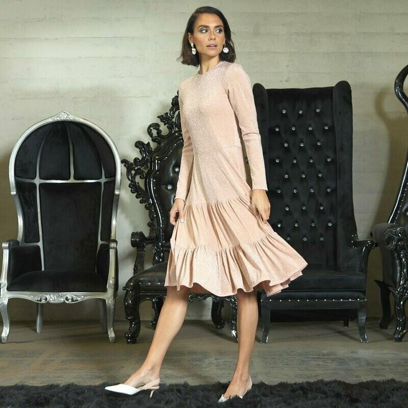 Fancy blush dress