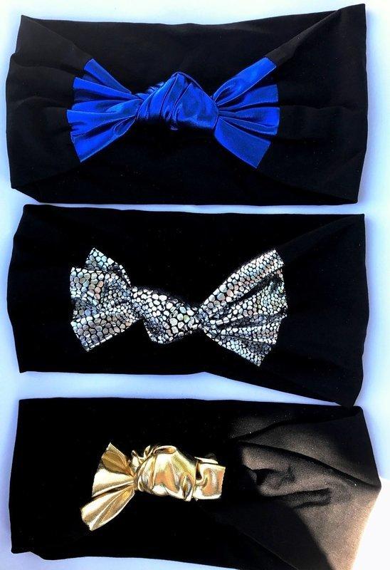 Foil knot headbands