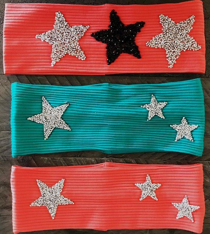 Stars flat headbands