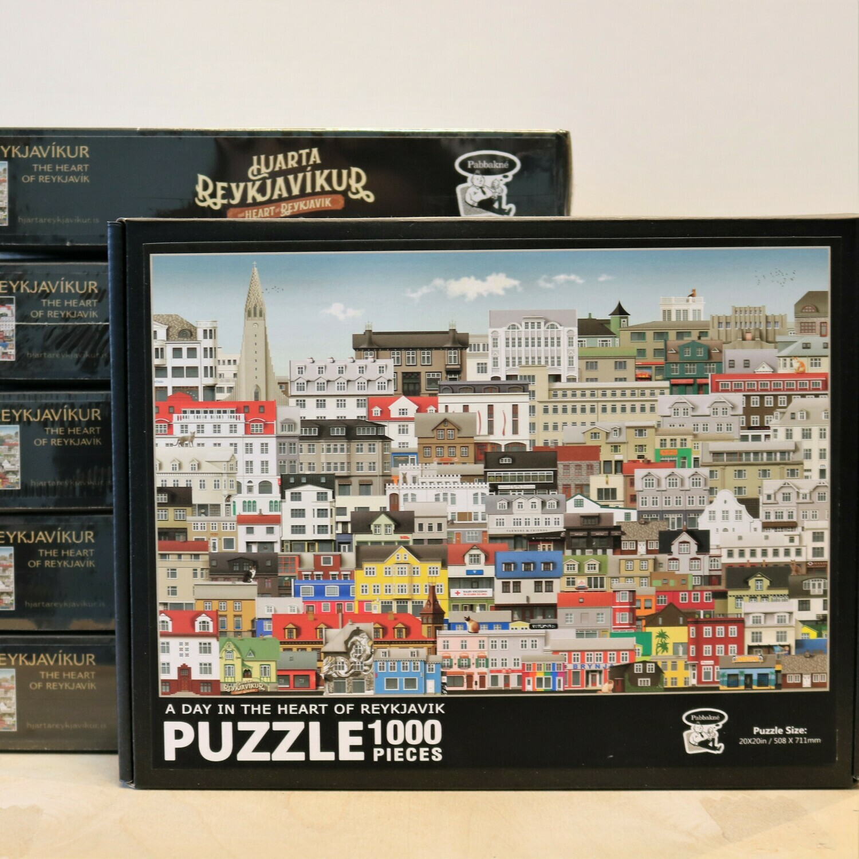 Reykjavik puzzle - A Day