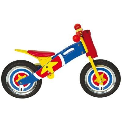 Wooden Balance Bicycle. America