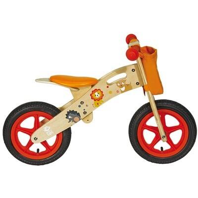 Wooden Balance Bicycle. Animals