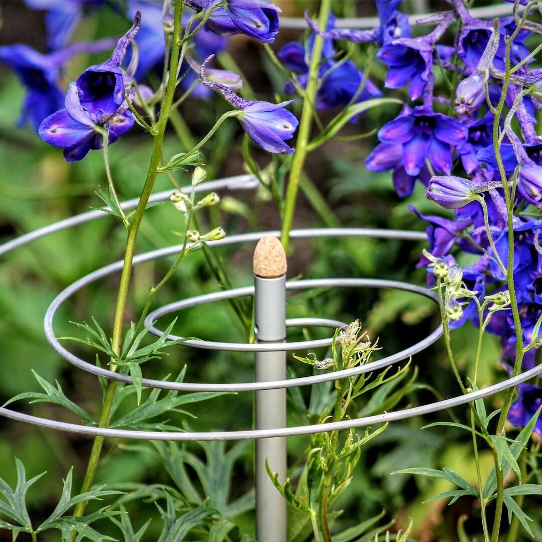 2 spiraal plantensteunen | Ø 30 cm