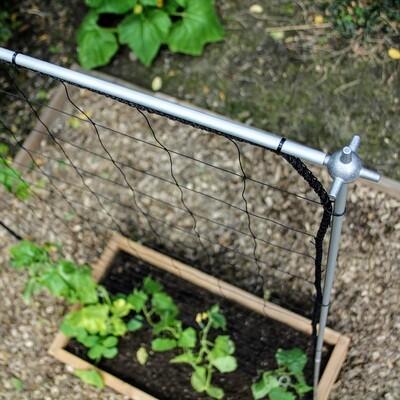 Uitbreidbaar klimrek voor klimplanten | L 107 x H 205 cm