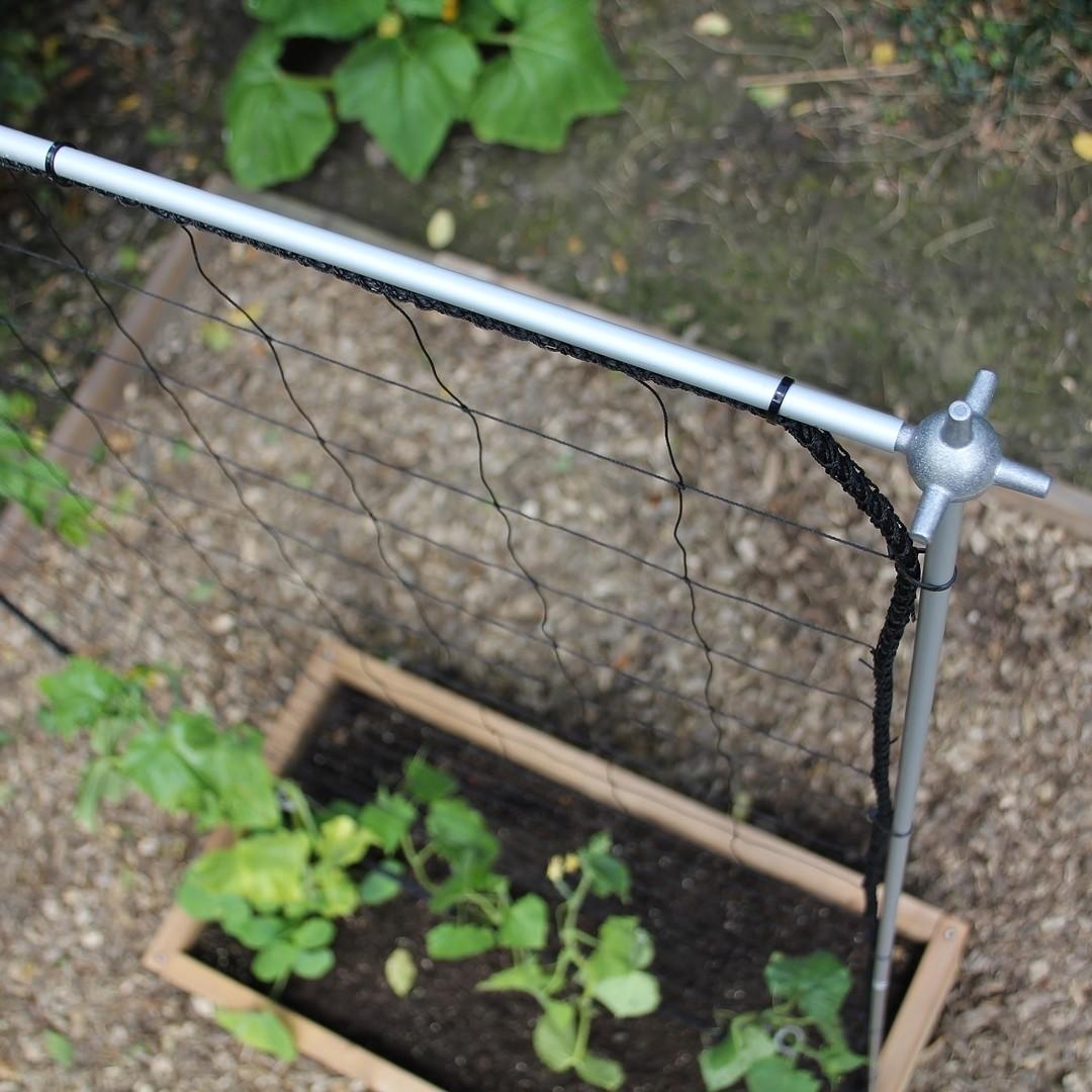 Uitbreidbaar klimrek voor planten | L 107 x H 205 cm