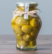 Whole Green Olives in Garlic & Rosemary