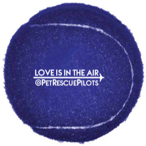 Love is in the Air Tennis Ball
