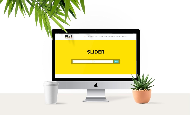 BestofNEA.com High Impact Home Page Slider