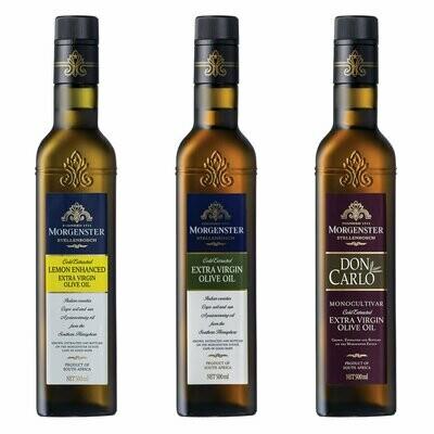 MORGENSTER OLIVE OIL PROEFPAKKET (3 Flessen)