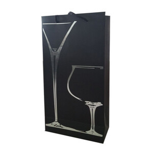 1 fles Cocktail draagtas