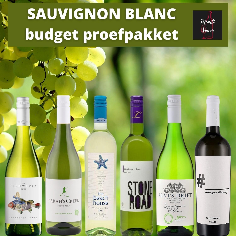 Proefpakket Budget Sauvignon Blanc
