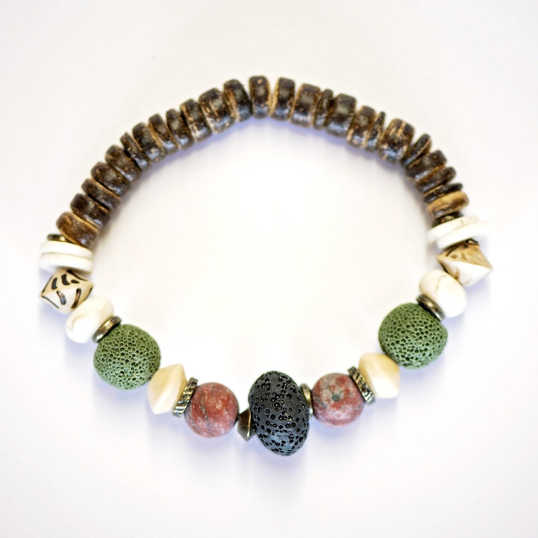 Green aroma bracelets