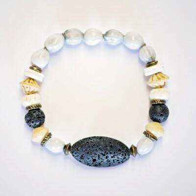 Black zulu seed aroma bracelet