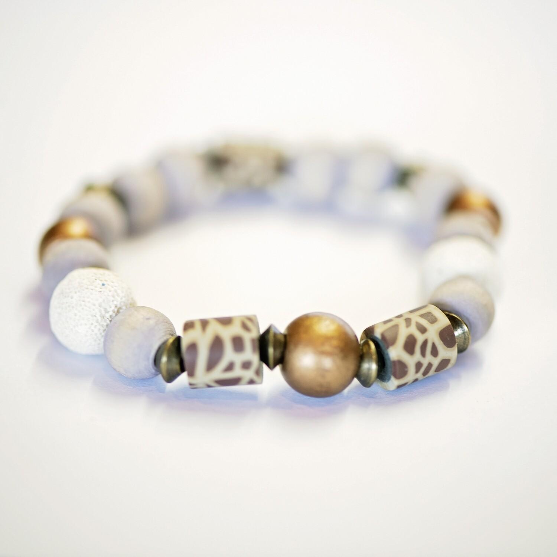 Gold aroma bracelet
