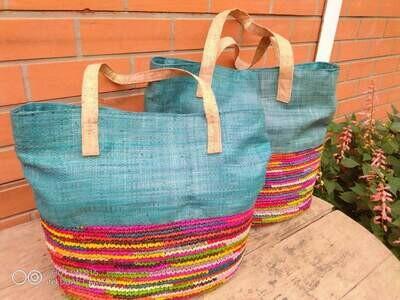Penelope Tote Bag Cork handles