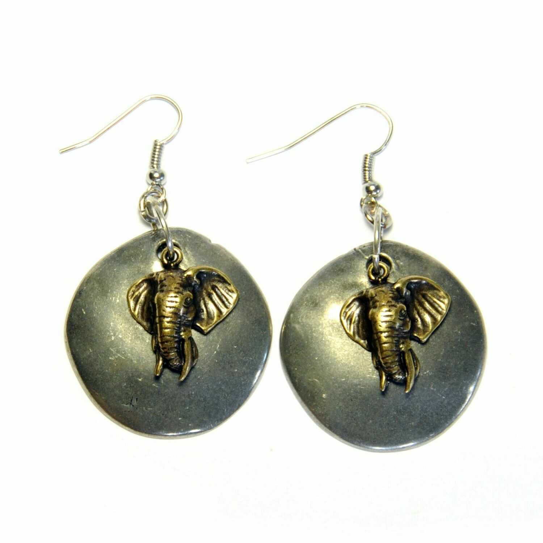 Elephant earings