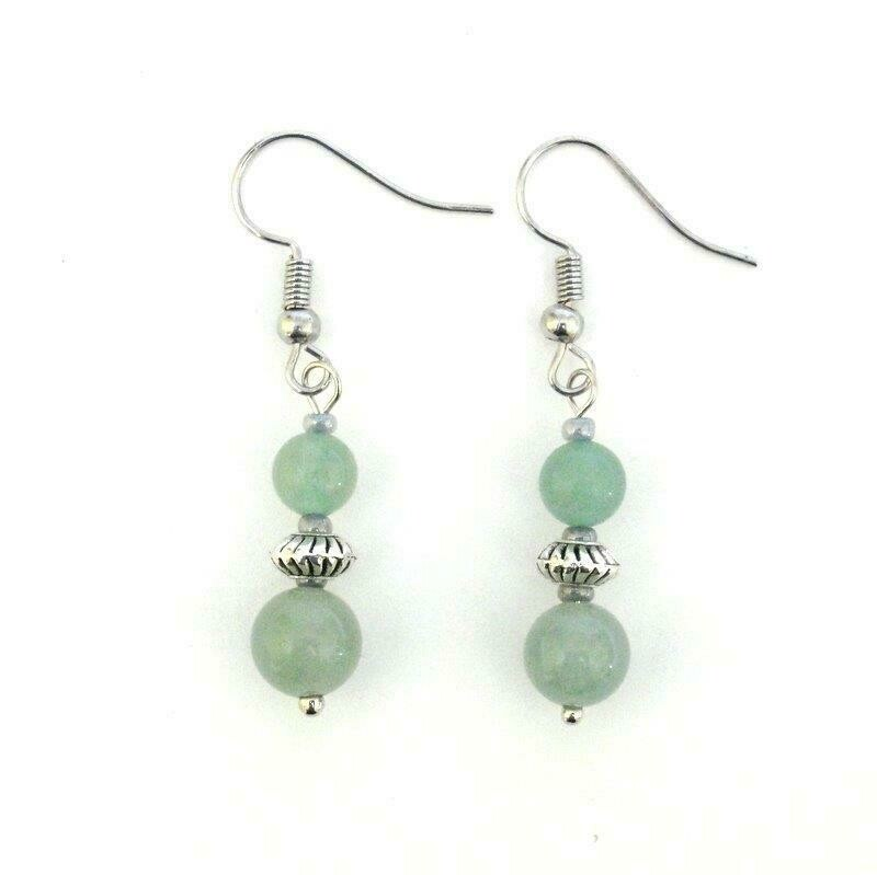 Adventurine earings