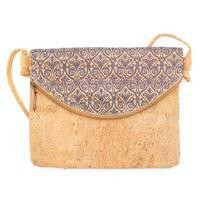 Delilah Cork Messenger Bag
