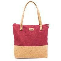 Emily Red Tote Bag