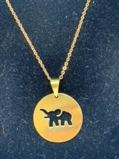 Elephant Bomb necklace