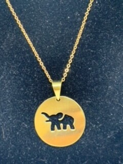 Elephant Bomb necklace
