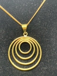 Circle Bomb necklace